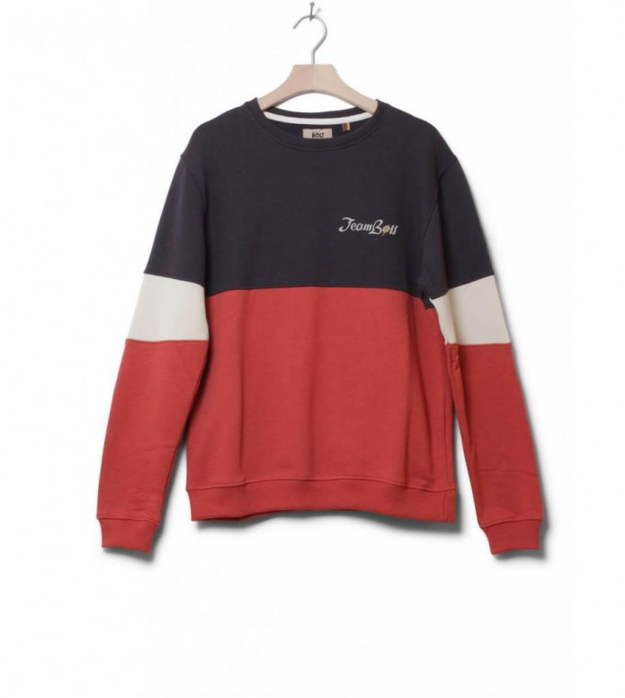 Lightning Bolt Sweater Destination red tabasco S