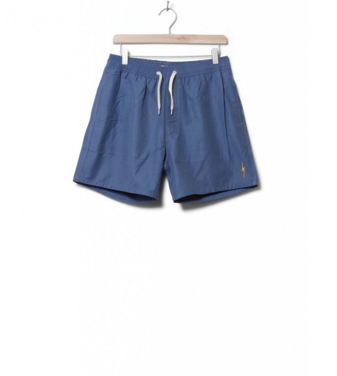 Lightning Bolt Shorts Plain Turtle blue stone 28