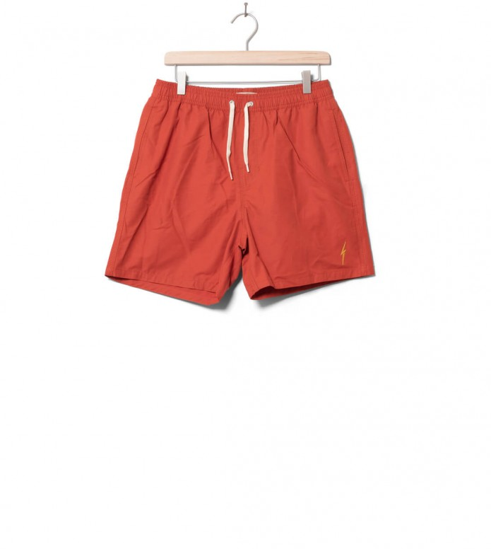 Lightning Bolt Shorts Plain Turtle orange burnt sienna 30