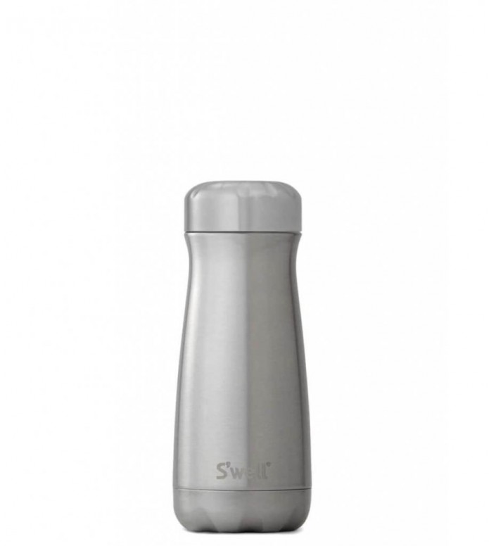 Swell Swell Bottle Traveler MD silver shimmer lining