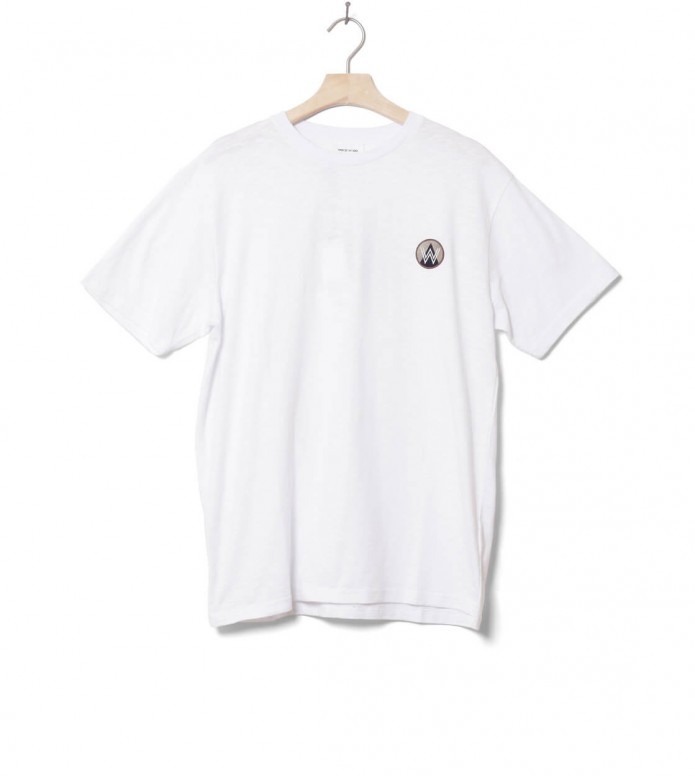 Wood Wood Wood Wood T-Shirt Slater white bright