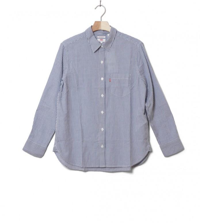 Levis W Shirt Ultimate Boyfriend blue fondaluc sodalite