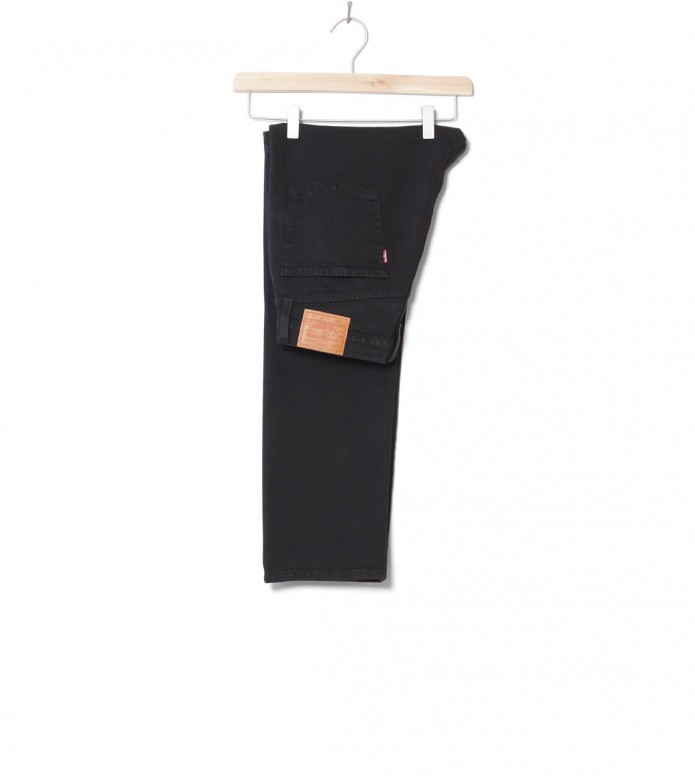 Levis W Jeans 501 Crop black heart 26/28