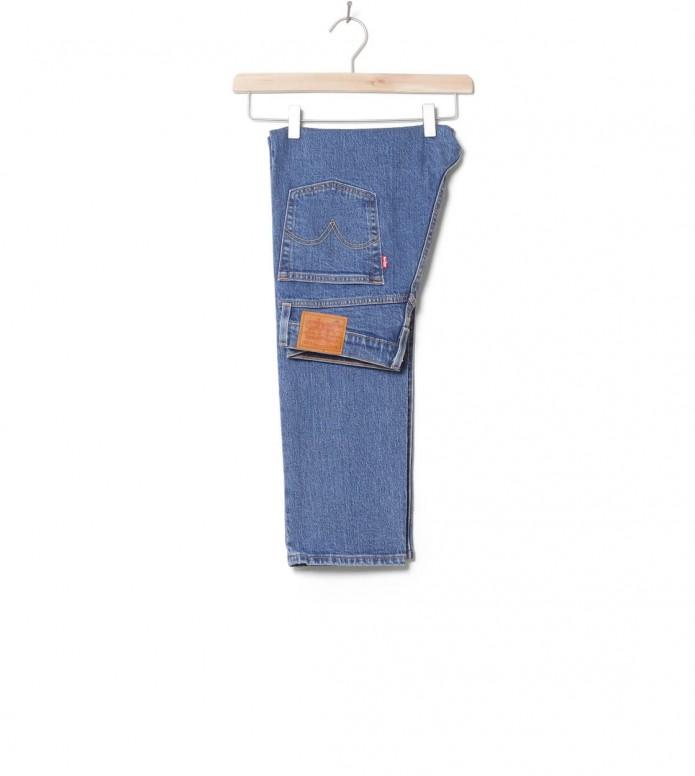 Levis W Jeans 501 Crop blue jive stonewash 28/28