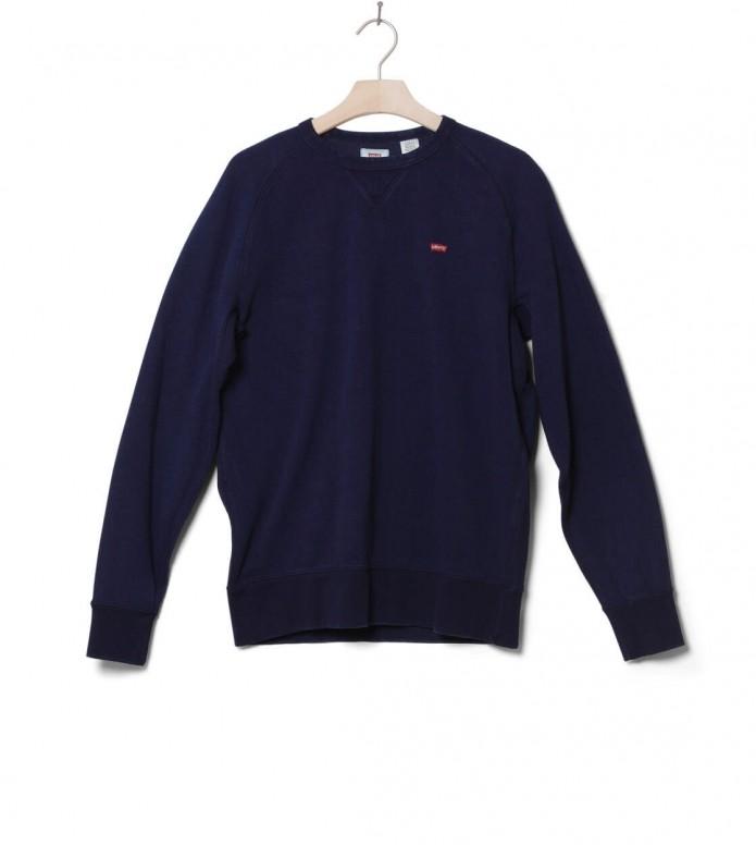 Levis Sweater Original Hm Icon Crew blue indigo M