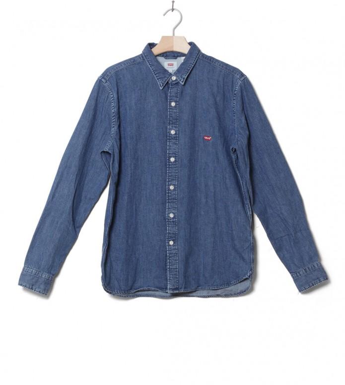 Levis Shirt Battery Hm blue redcast stone S