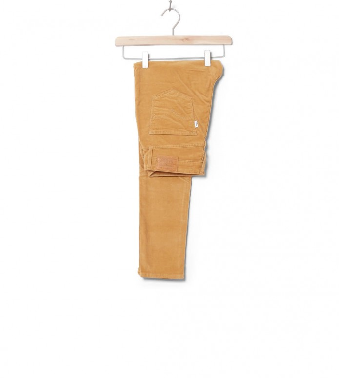 Levis W Jeans 721 High Rise Skinny beige golden khaki luxe cord