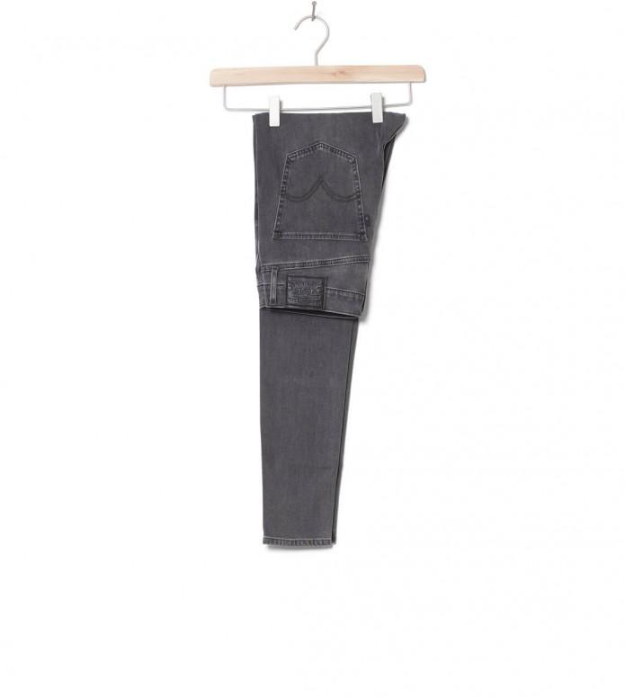 Levis W Jeans Mile High Super Skinny grey smoke show 26/30