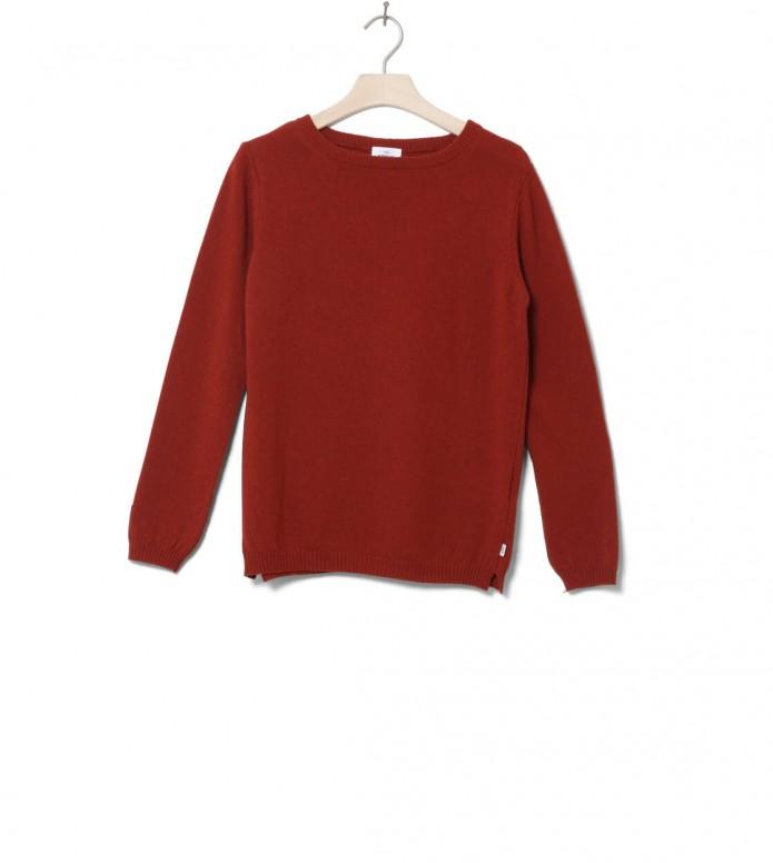 Klitmoller W Knit Daniella orange rust XS