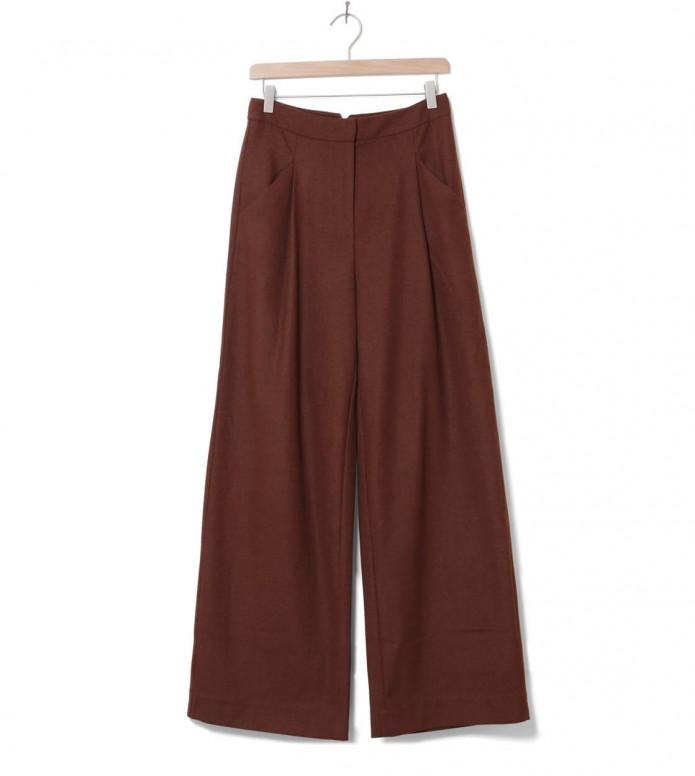 Minimum Minimum W Pants Vica brown potting soil
