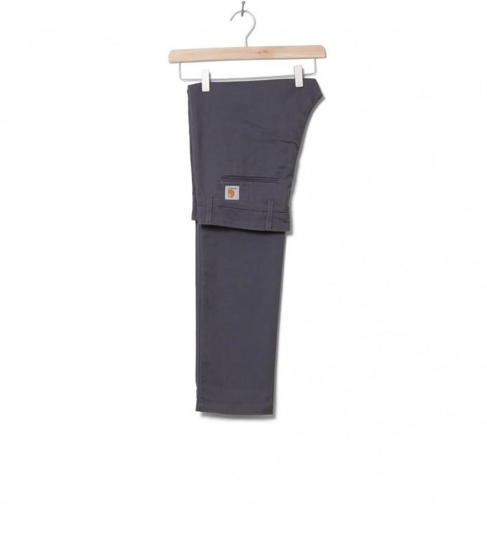 Carhartt WIP Pants Sid Lamar grey blacksmith 30/32
