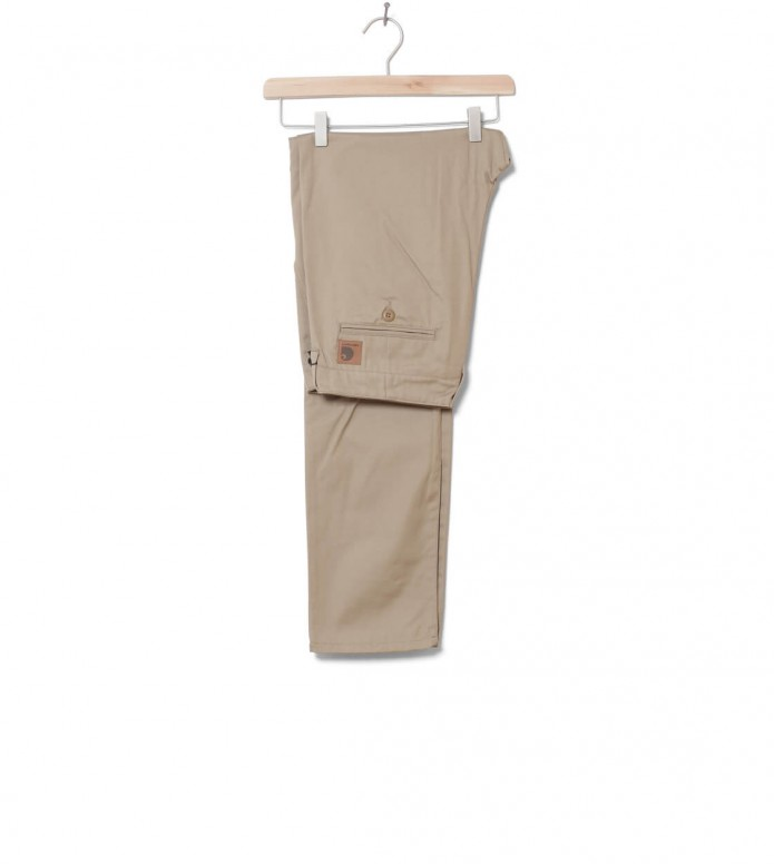 Carhartt WIP Pants Club Benson beige leather rigid 30/32