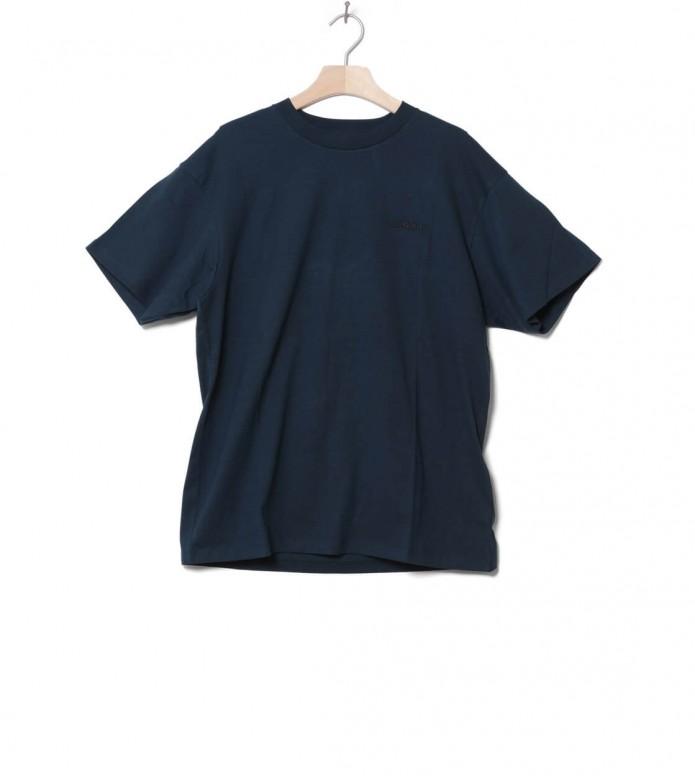 Carhartt WIP T-Shirt Embroidery blue duck XL