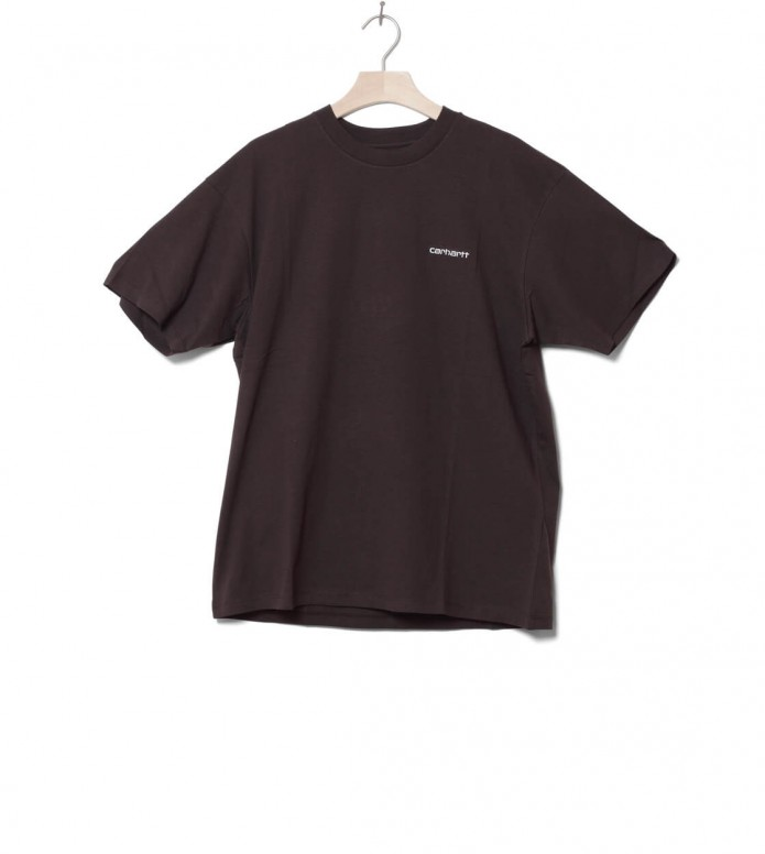 Carhartt WIP T-Shirt Embroidery brown tobacco XL