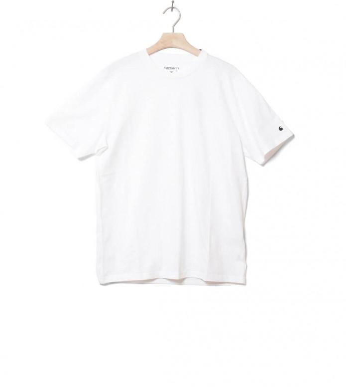 Carhartt WIP T-Shirt Base white/black S
