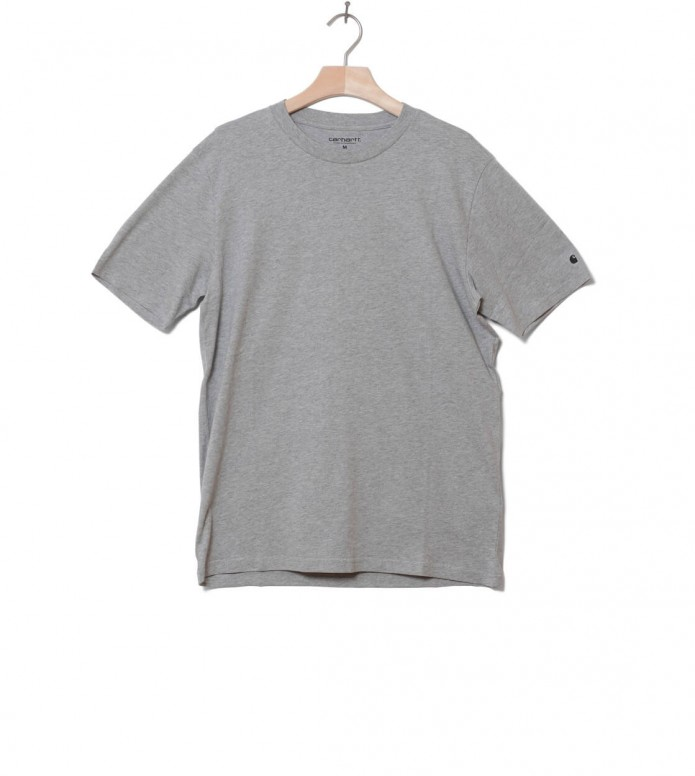 Carhartt WIP T-Shirt Base grey heather/black S