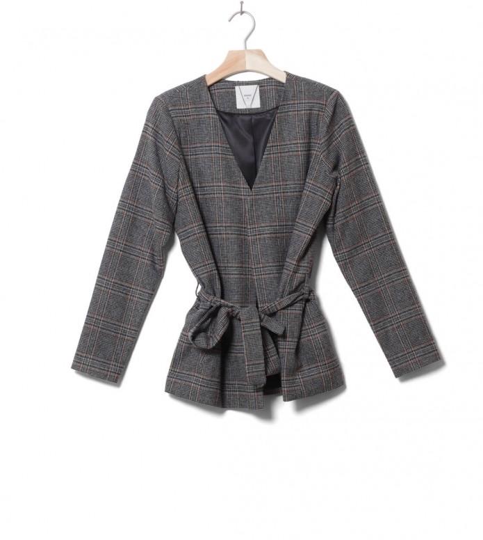 Minimum W Blazer Tjekki grey black XS