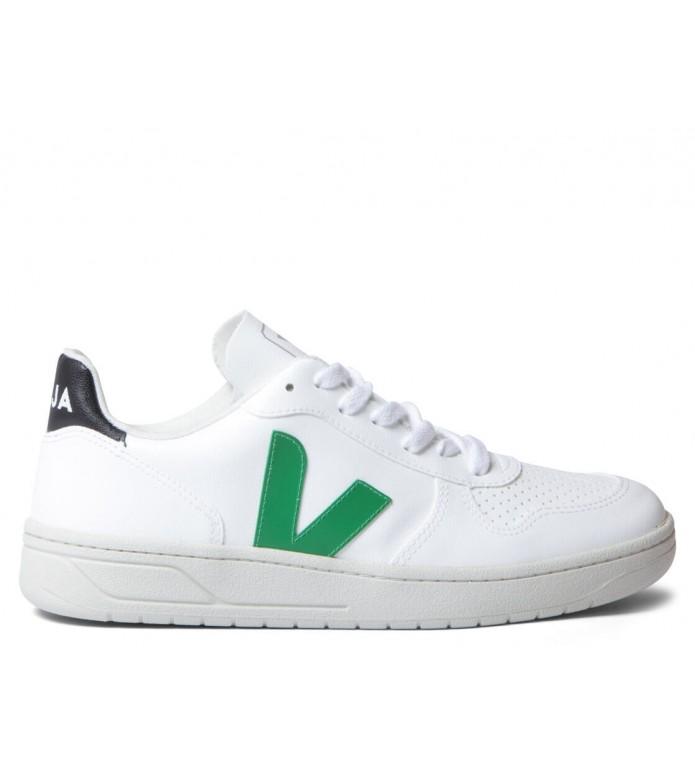 Veja Veja W Shoes V-10 Vegan (C.W.L.) white emeraude black