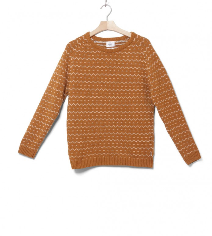 Klitmoller W Knit Jasmin brown amber/cream