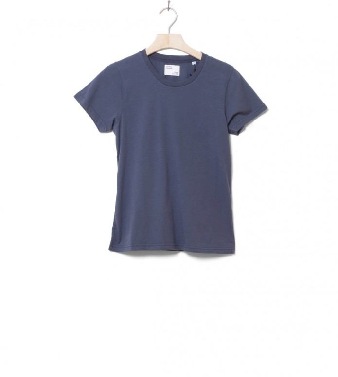 Colorful Standard Colorful Standard W T-Shirt CS 2051 blue petrol
