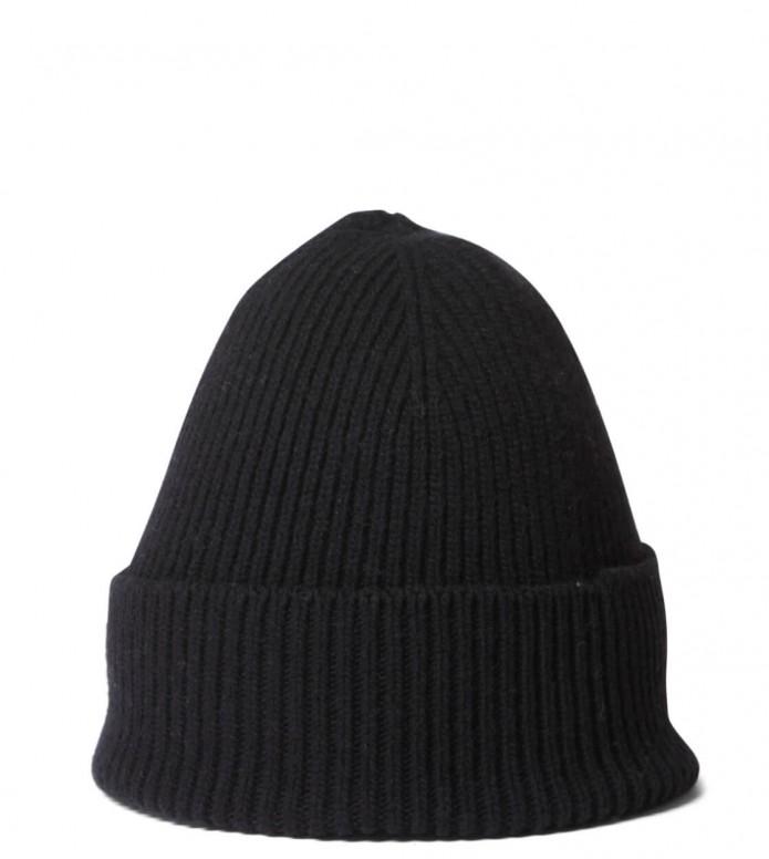 Colorful Standard Colorful Standard Beanie Merino Wool black deep
