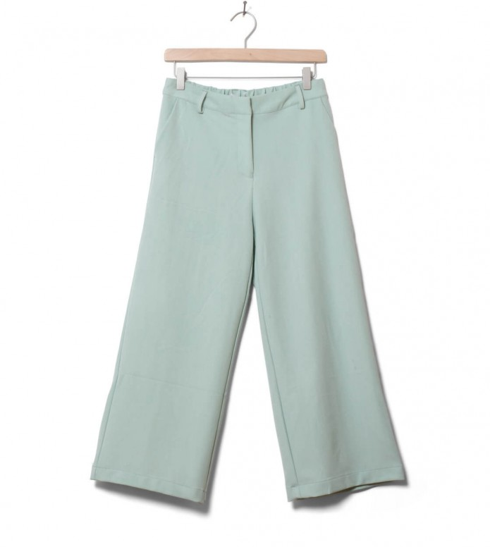 Minimum Minimum W Pants Culotta green sea foam