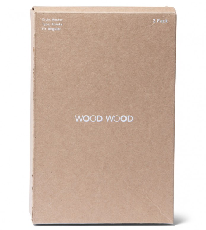 Wood Wood Wood Wood Trunks Vester 2-Pack white bright
