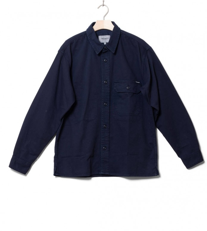 Carhartt WIP Carhartt WIP Shirt Reno blue dark navy