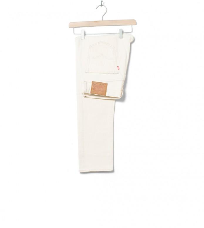 Levis Jeans 501 Slim Taper beige bare bones 29/32