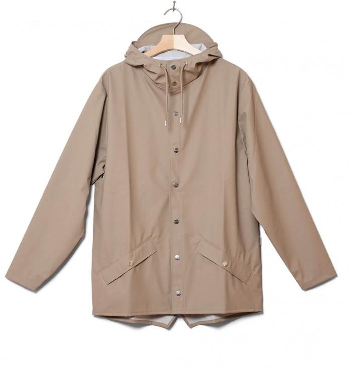Rains Rains Rainjacket Short beige