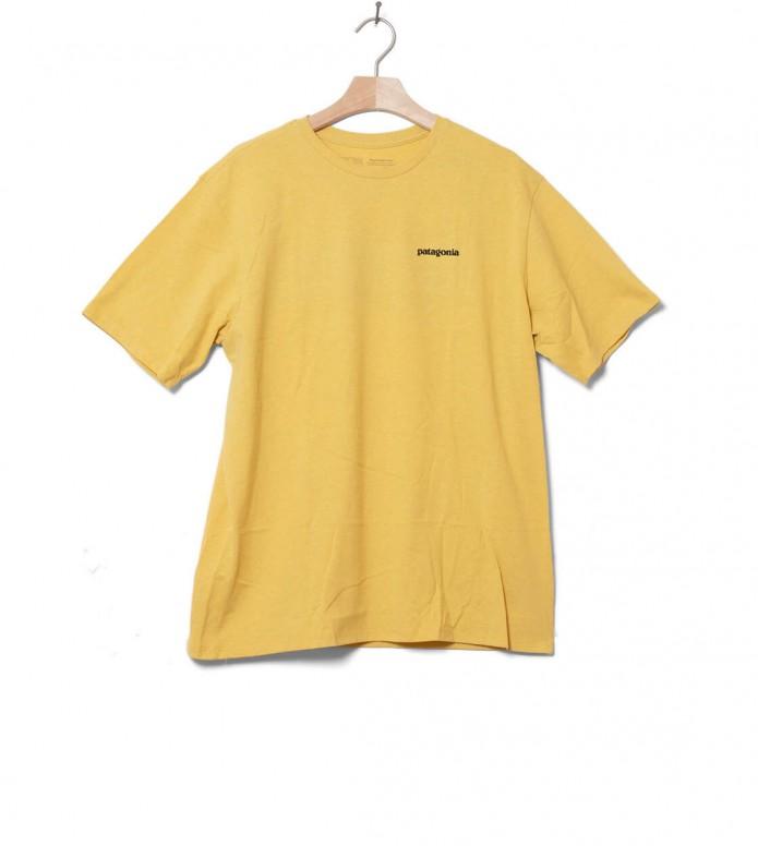 Patagonia Patagonia T-Shirt P-6 Logo yellow surfboard