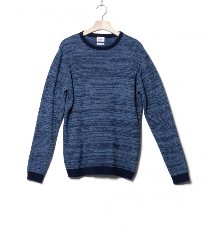 Klitmoller Collective Klitmoller Knit Pullover Mik blue navy/heaven