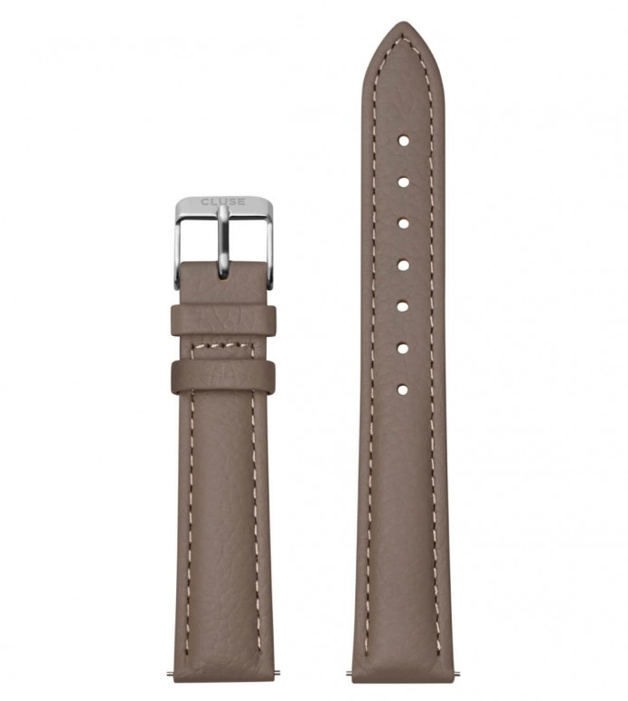 Cluse Cluse Strap Minuit grey taupe/silver