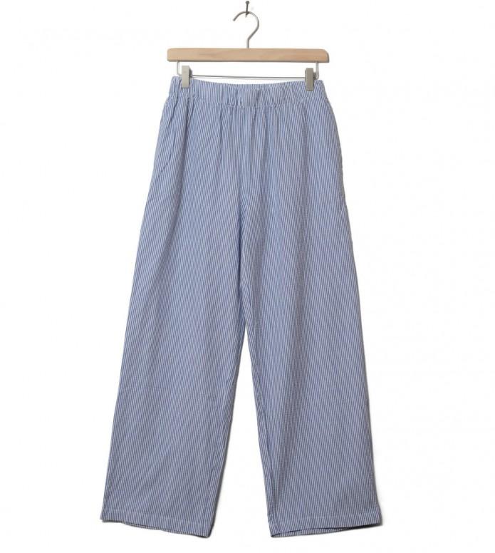 Wemoto W Pants Nia blue navy-white XS