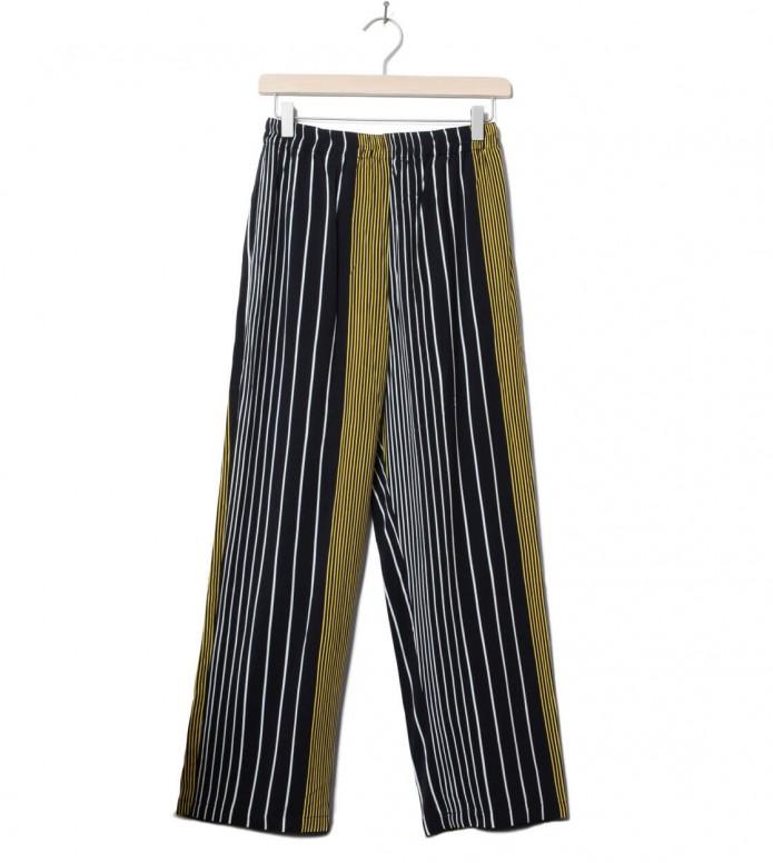 Wemoto W Pants Beth Printed black-yellow XS