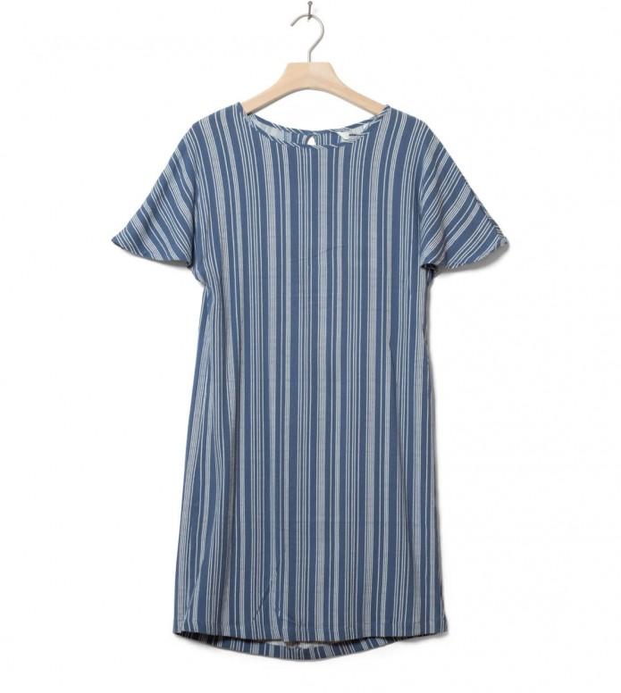 Wemoto Wemoto W Dress Byron Printed blue indigo