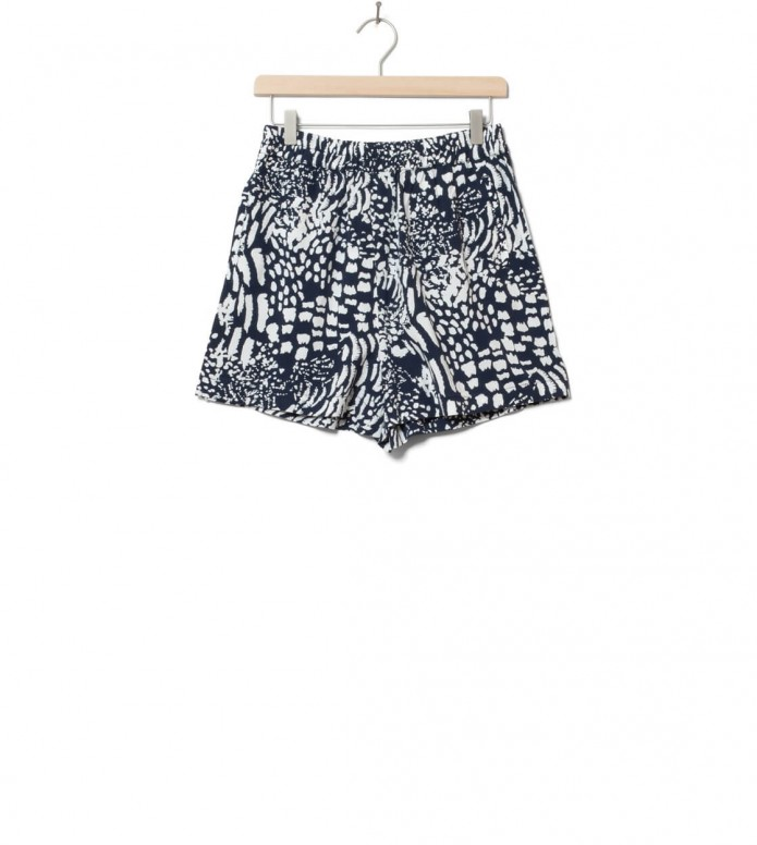 Wemoto W Shorts Hyder Printed blue navy-off white XS
