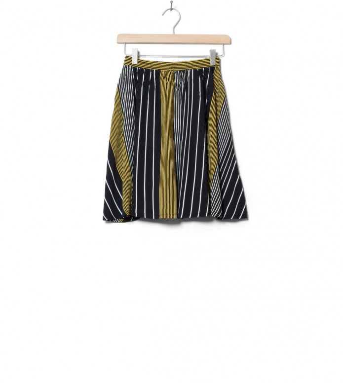 Wemoto W Skirt Rations Printed black-yellow XS