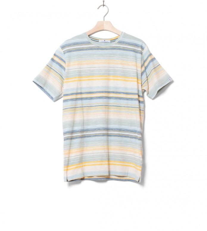 Revolution (RVLT) Revolution T-Shirt 1171 Stripe beige offwhite