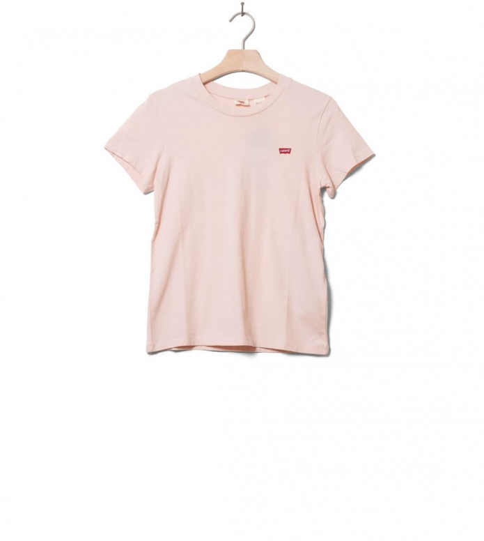Levis W T-Shirt Perfect Tee pink peach blush XS