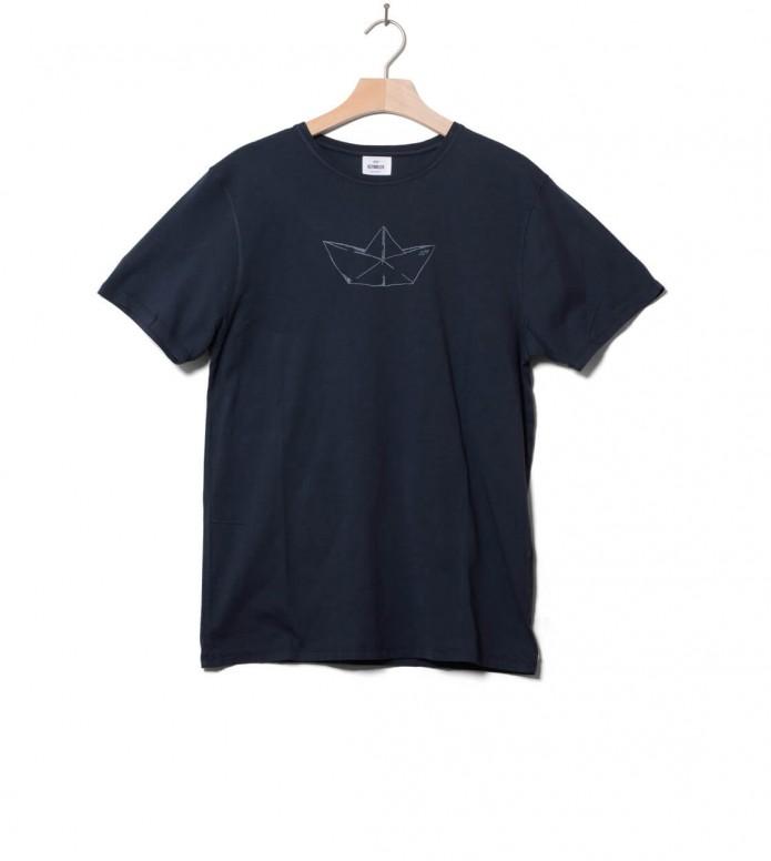 Klitmoller Collective Klitmoller T-Shirt Birk the boat blue navy