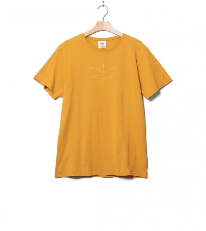 Klitmoller Collective Klitmoller T-Shirt Birk the boat yellow sun