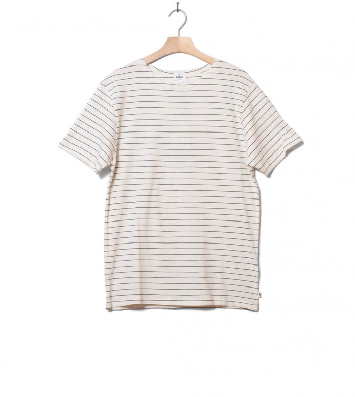 Klitmoller Collective Klitmoller T-Shirt Tom white cream/navy