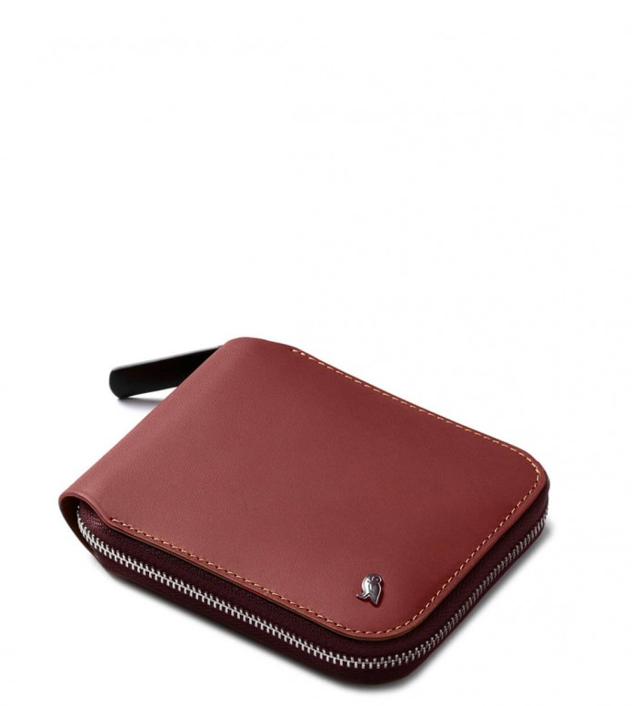 Bellroy Bellroy Wallet Zip red earth
