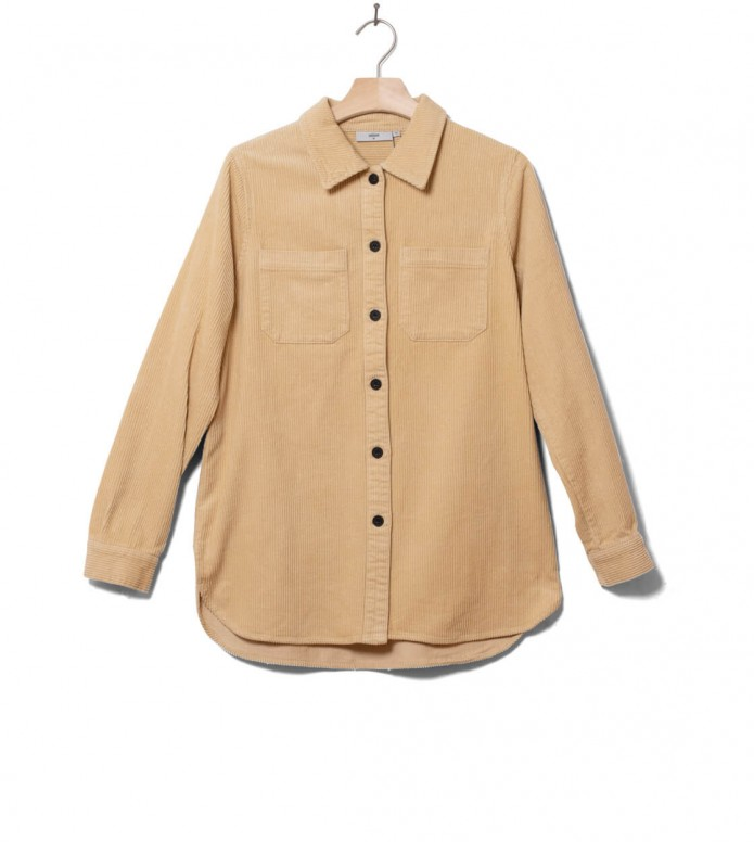 Minimum W Shirt Feluna beige nomad XS
