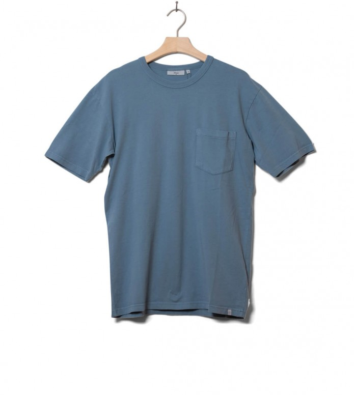 Minimum T-Shirt Haris blue stone S