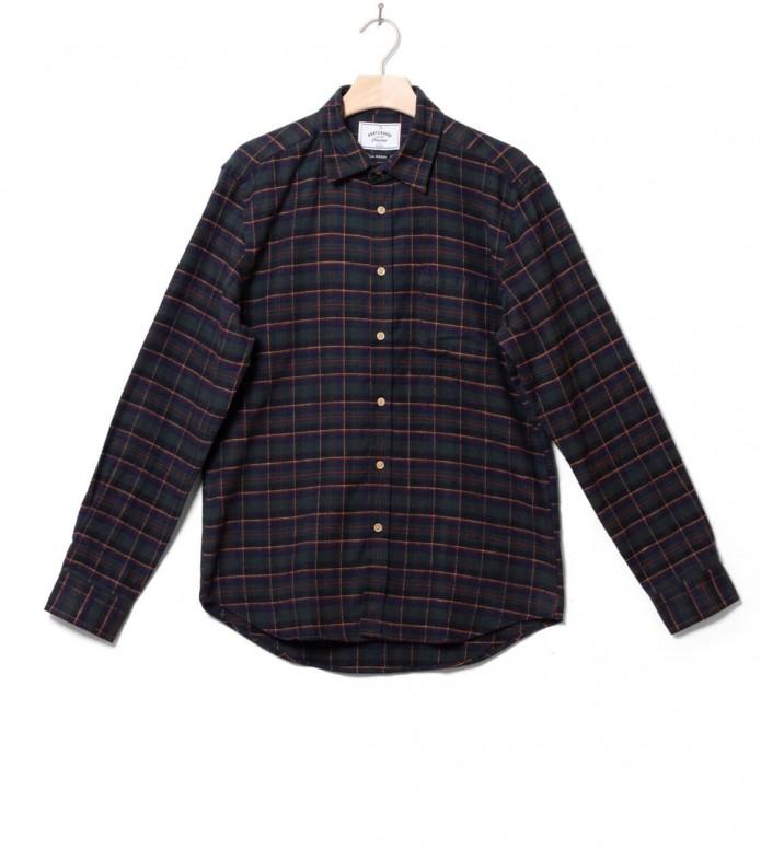 Portuguese Flannel Shirt Loredo multi green S