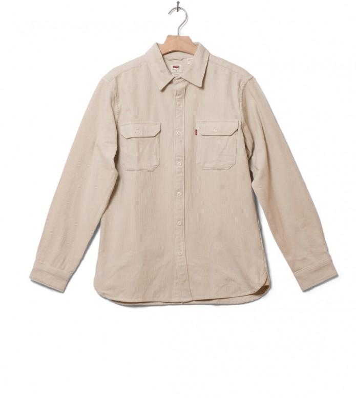 Levis Shirt Jackson Worker beige almond milk S