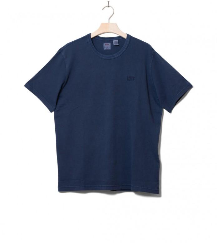 Levis T-Shirt Authentic Crewneck blue garment dress S