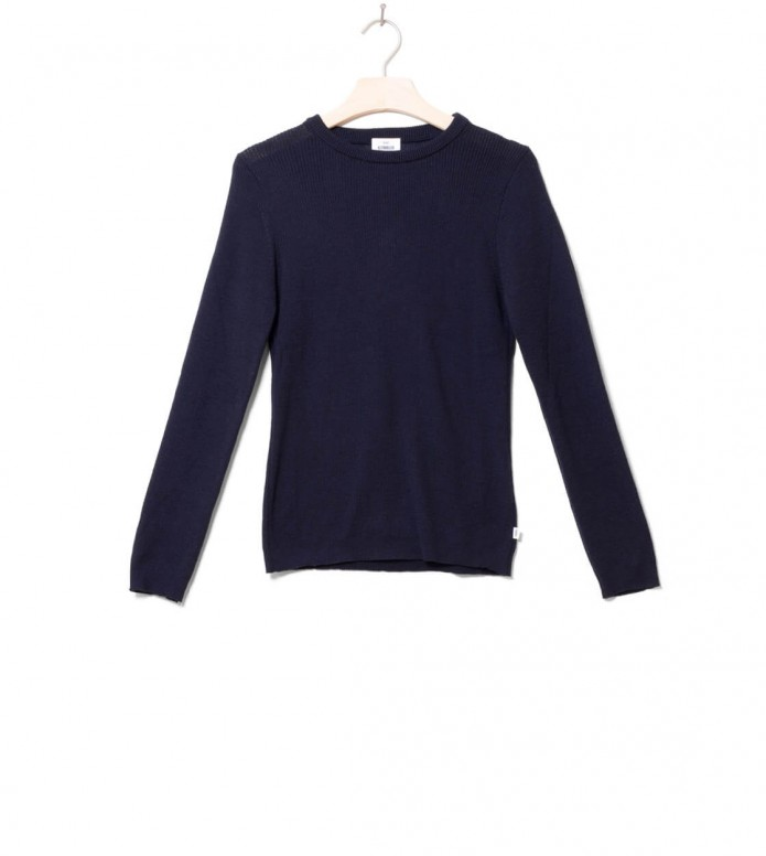 Klitmoller Collective Klitmoller W Knit Ingrid blue navy